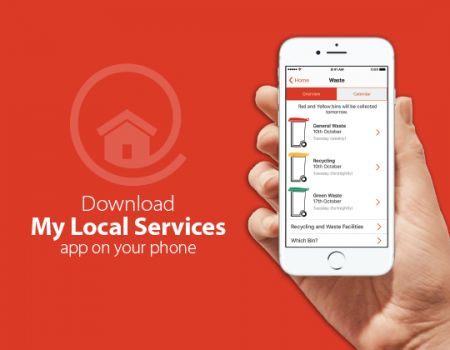 Image of the My Local Services App